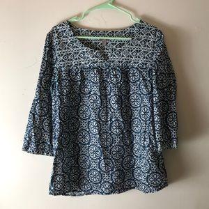 J. Jill cotton blouse size small